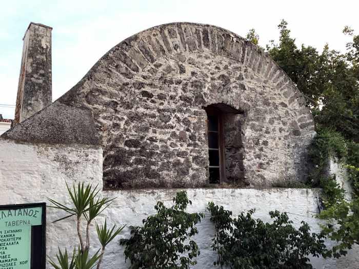 Greece, Greek island, Poros, Poros island, Saronic island, cistern, water tank,