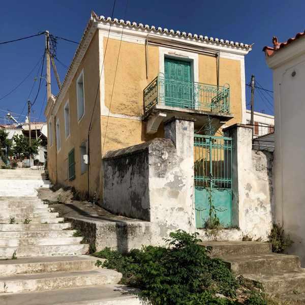 Greece, Greek island, Saronic island, Poros, Poros Greece, Poros island, Poros Town, building,
