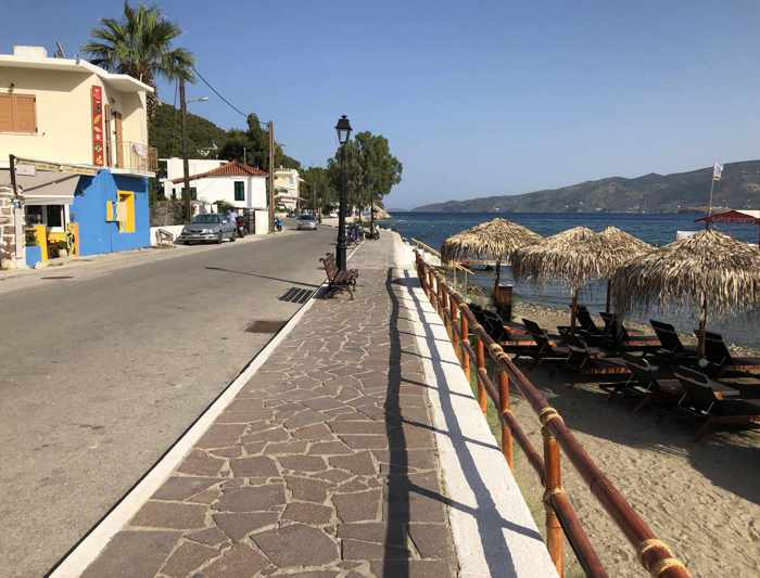 Greece, Greek island, Saronic island, Poros, Poros Greece, Poros island, road, Colona Beach Poros, Askeli beach Poros, Poros Posidonas Road,