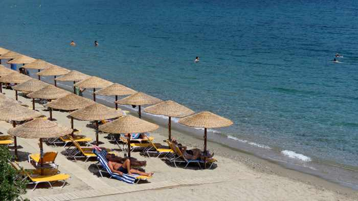 Greece, Greek island, Saronic island, Poros, Poros Greece, Poros island, beach, Askeli beach, Askeli beach Poros, sea,