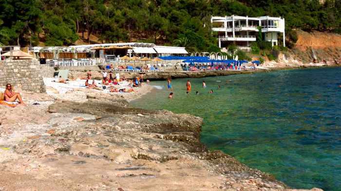 Greece, Peloponnese, Argolida, Nafplio,beach, Nafplio beach, Arvanitia, Arvanitia beach, seaside, coast, shore,