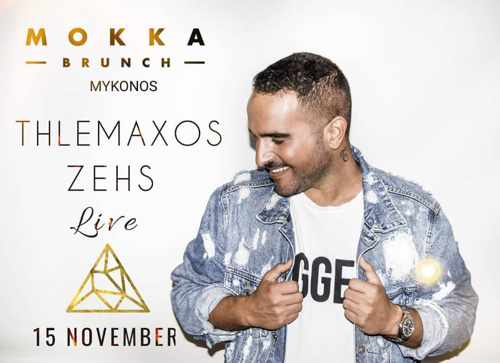 Mokka Brunch Mykonos presents Tilemachos Zeis on November 15
