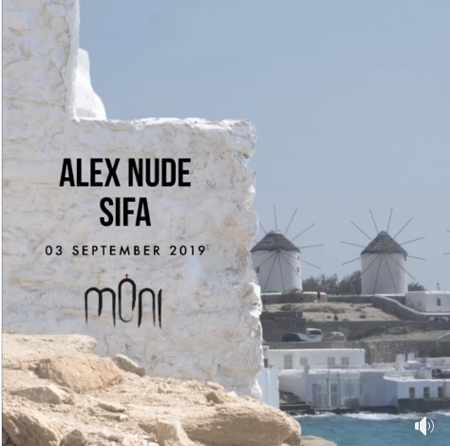 Moni club Mykonos presents Alex Nude and SIFA on Tuesday September 3