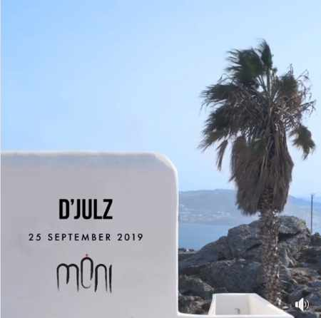 Moni club Mykonos presents D Julz on Wednesday September 25
