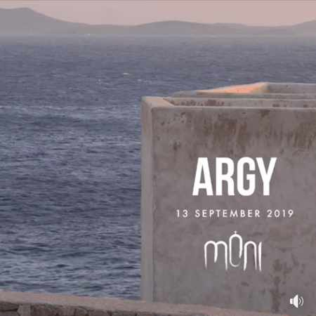 Moni club Mykonos presents DJ Argy on Friday September 13