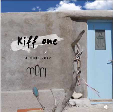 Promotional image for DJ Kiff One appearance at Moni club on Mykonos June 14