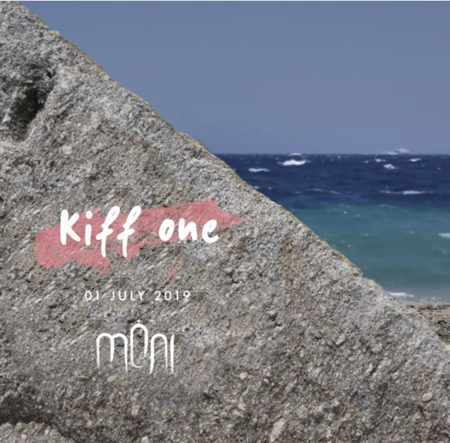 Advertisement for DJ Kiff One show at Moni club Mykonos July 1