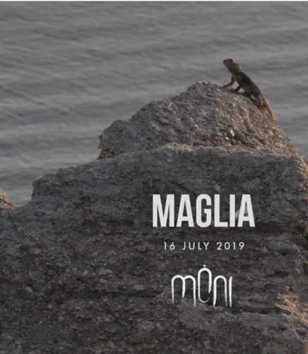 Promotional image for DJ Maglia show at Moni Mykonos on July 16