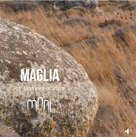 Promotional ad for DJ Maglia show at Moni club Mykonos September 7