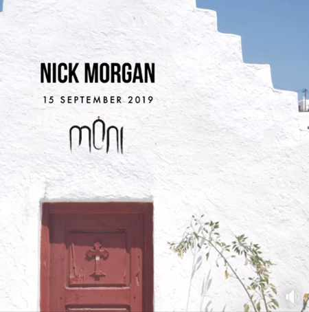 Moni club Mykonos presents DJ Nick Morgan on Sunday September 15