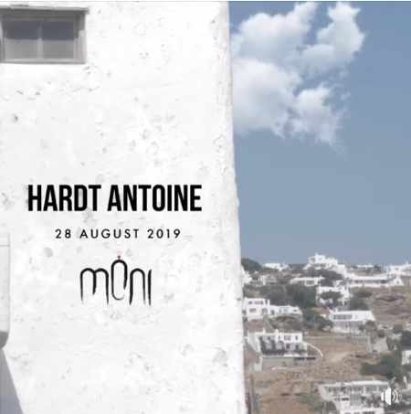 Moni club Mykonos presents Hardt Antoine on Wednesday August 28