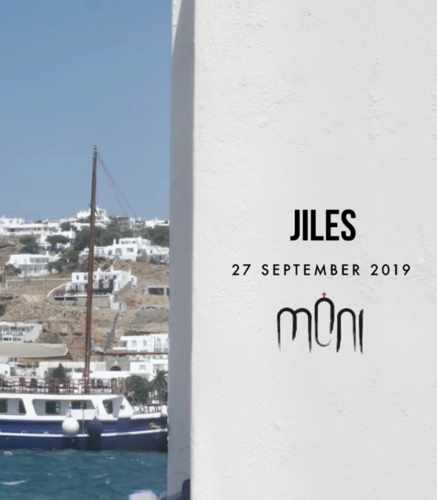 Moni club Mykonos presents Jiles on Friday September 27