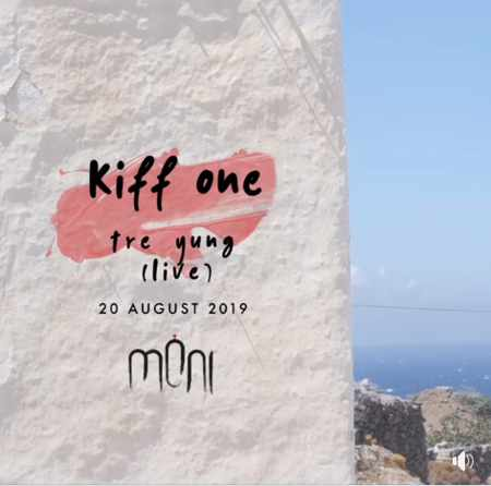 Moni club Mykonos presents Kiff One and Tre Yung on Tuesday August 20