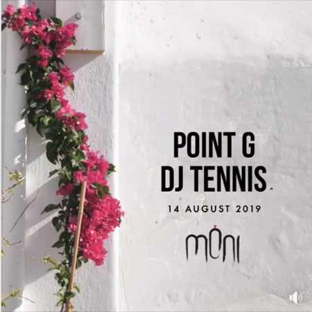 Moni club Mykonos presents Point G and DJTennis on Wednesday Aukgust 14