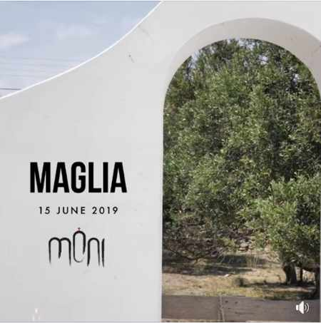Promotional ad for Maglia show at Moni club Mykonos on June 15