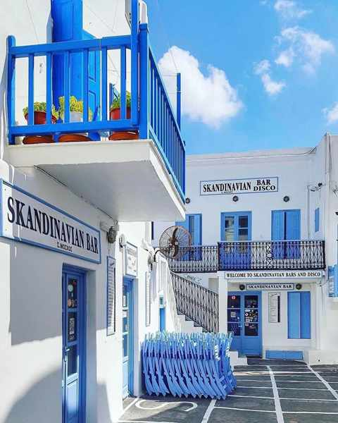 Photo of Skandinavian Bar Mykonos from the clubs page on Facebook