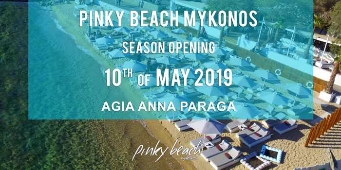 Greece, Greek islands, Cyclades, Mikonos, Mykonos, beach club, Pinky Beach Mykonos,