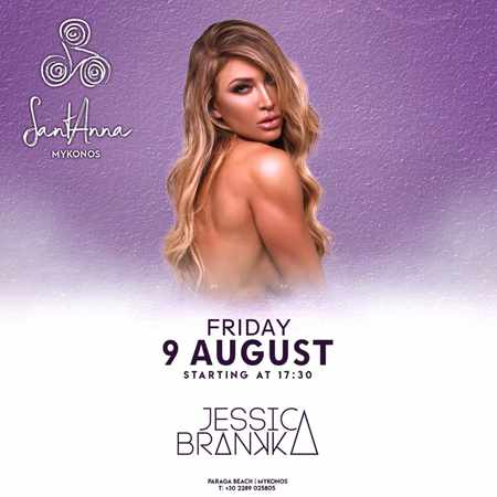 SantAnna Mykonos presents DJ Jessica Brankka on Friday August 9