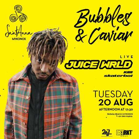 SantAnna Mykonos presents Juice Wrld on Tuesday August 20