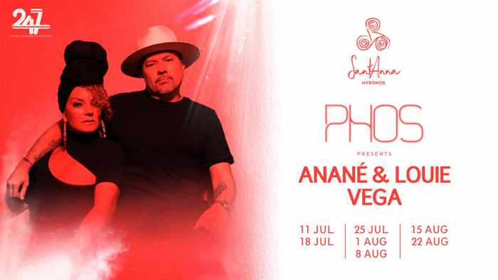SantAnna beach club Mykonos presents Phos on Thursday July 18