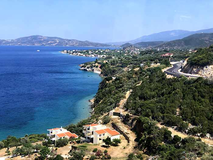 Greece, Peloponnese, coast, Saronic Gulf, Saronic Gulf islands, Greek islands,