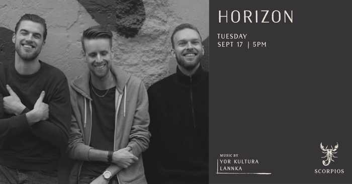 Scorpios Mykonos Horizon event on Tuesday September 17