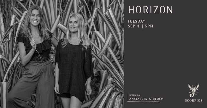 Scorpios Mykonos Horizon event on Tuesday September 3
