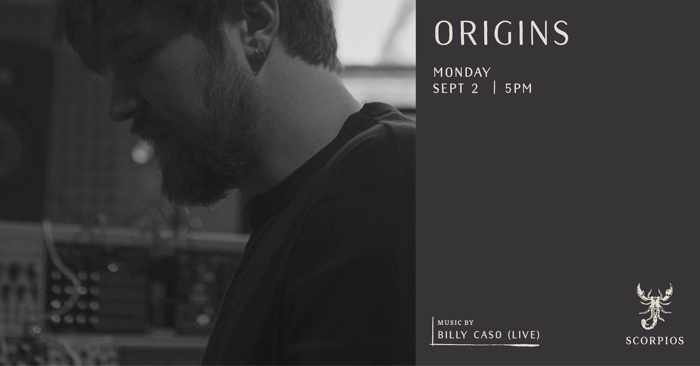 Scorpios Mykonos Origins event with Billy Caso on September 2