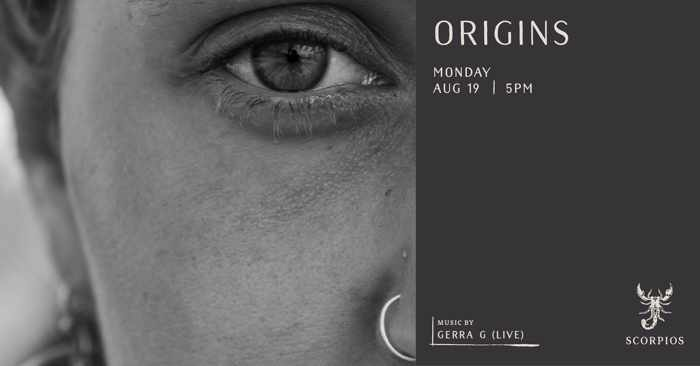 Scorpios Mykonos Origins event with Gerra G on Monday August 19