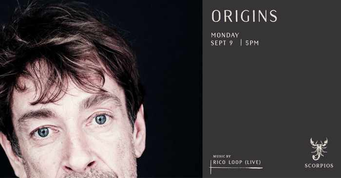 Scorpios Mykonos Origins event with Rico Loop on Monday September 9