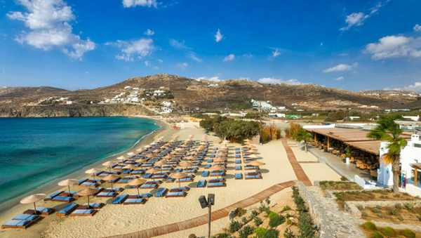 Facebook photo of Solymar beach restaurant on Mykonos