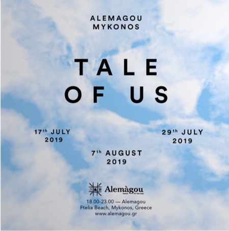 Tale of Us appearance dates at Alemagou beach club Mykonos during summer 2019