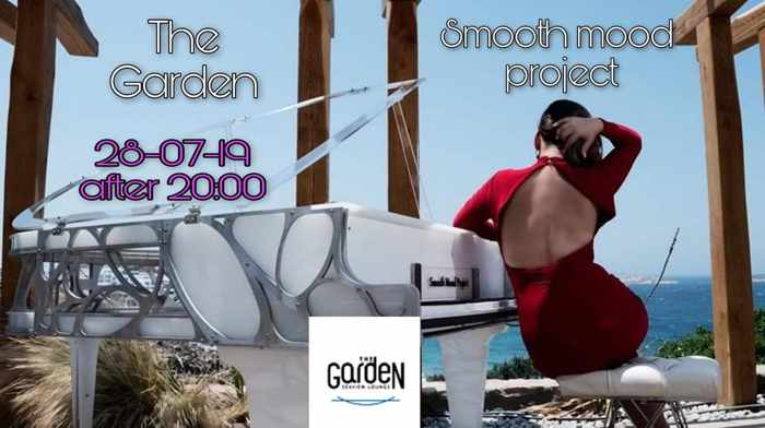 The Garden of Mykonos presents Smooth Mood Project on Sunday July 28