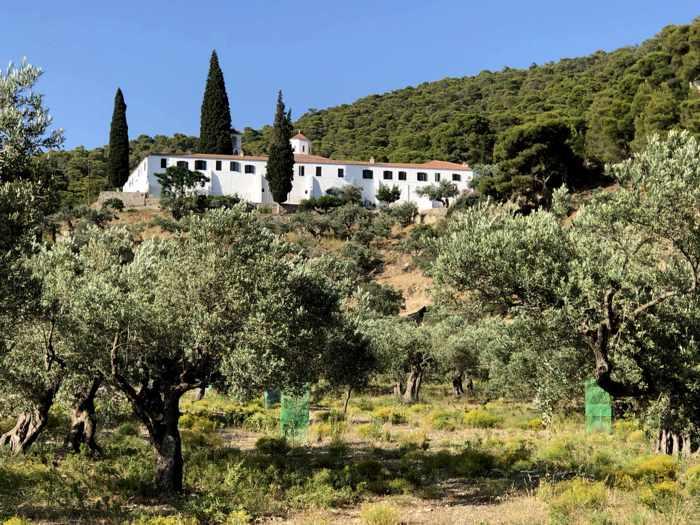 Greece, Greek island, Saronic island, Poros, Poros island, Poros Greece, monastery, Zoodochos Pigi Monastery Poros,
