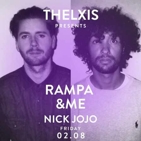 Thelxis presents Rampa &ME and Nick Jojo at Alemagou Mykonos on Friday August 2