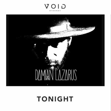 Advertisement for DJ Damian Lazarus appearance at Void club Mykonos