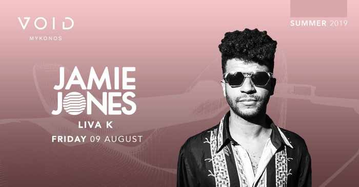 Void club Mykonos presents Jamie Jones on August 9