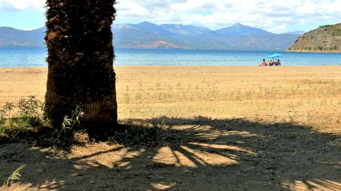 Greece, Peloponnese, Nafplio,Karathona, Karathona beach, beach, bay, seaside, shore, coast,