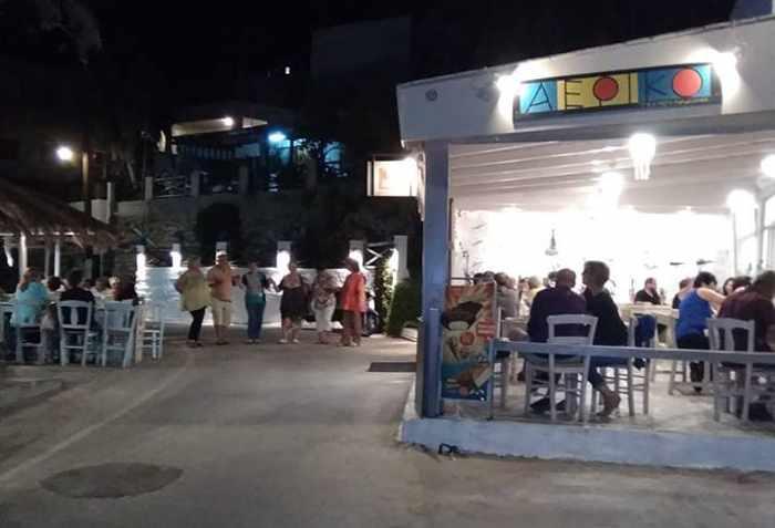 Greece, Greek islands, Cyclades, Siros, Syros, Syros island, Kini Bay, Kini, Kini Bay on Syros, bar, restaurant, cafe, taverna, grillhouse, mezedopoleio, Aeriko, Aeriko mezedopoleio Kini Syros,
