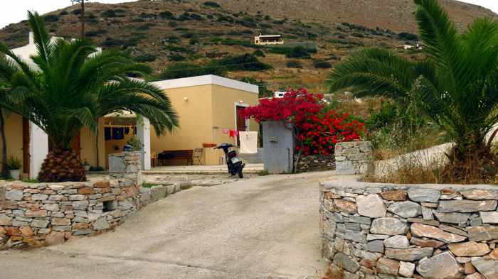 Greece, Greek Islands, Cyclades, Siros,Syros, Syros island, Kini, Kini Bay, Kini Bay Syros, Sini village, village, road, street,