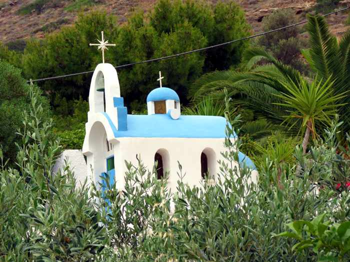 Greece, Greek Islands, Cyclades, Siros,Syros, Syros island, Kini, Kini Bay, Kini Bay Syros, Sini village, village, church, building,