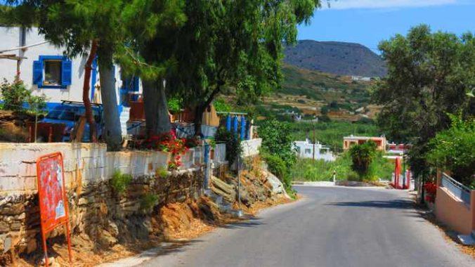 Greece, Greek Islands, Cyclades, Siros, Syros, Syros island, Kini, Kini Bay, Kini Bay Syros, village, street, lane, alley,