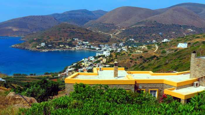 Greece, Greek Islands, Cyclades, Siros,Syros, Syros island, house, villa, building,