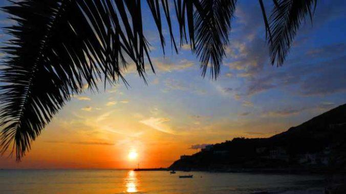 Greece, Greek Islands, Cyclades, Siros, Syros, Kini Bay, Kini beach, Kini village, landscape, coast, seaside, beach, Kini Beach, Kini Beach Syros, beach, coast, sunset, waves, bay, sea,