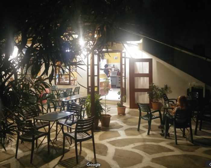 Greece, Greek islands, Cyclades, Siros, Syros, Syros island, Kini Bay, Kini, Kini Bay on Syros, bar, restaurant, cafe, taverna, Stou Marino at Kini Bay Syros, Marinos Place at Kini Bay Syros,