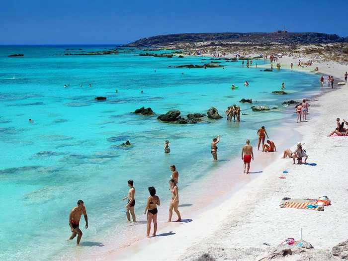 Greece, Greek islands, Crete, Crete island, beach, Greek beach, Elafonissi beach Crete, Elafonisi beach Crete,