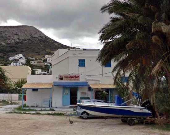 Greece, Greek islands, Cyclades, Siros, Syros, Syros island, Kini, Kini Bay, Kini Bay Syros, market, shop, store, minimarket,, grocery store