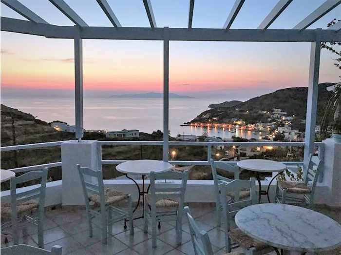 Greece, Greek islands, Cyclades, Siros, Syros, Syros island, Kini Bay, Kini, Kini Bay on Syros, hotel, accommodations, Kini hotel, Horizon Blue Hotel, Blue Horizon Hotel, Horizon Blue Hotel Syros, Horizon Blue Hotel Kini, Kini hotel,