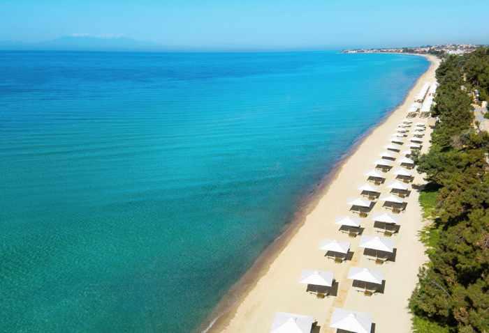 Greece, Greece mainland, Halkidiki, Ikos Oceania resort, Ikos resort, beach, coast, sea,