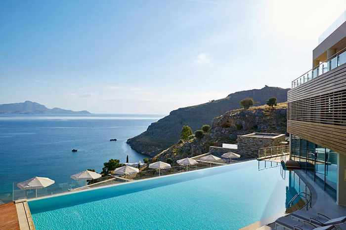 Greece, Greek islands, Dodecanese, Rhodes, Rhodes island Greece, Lindos, Lindos Greece, hotel, Lindos Blu hotel, resort, romantic hotel,